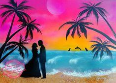 #love #sunset #spraypainting