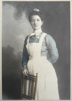 Early 1900's Maid