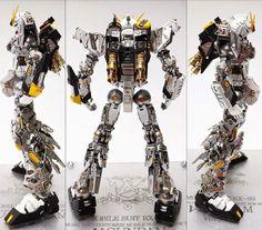 MG 1/100 RX-93 Nu Gundam Ver. Ka - Customized Build     Modeled by jjhangel