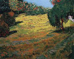 Vincent van Gogh - Sunny Lawn in a Public Park - 1888(1186×950)