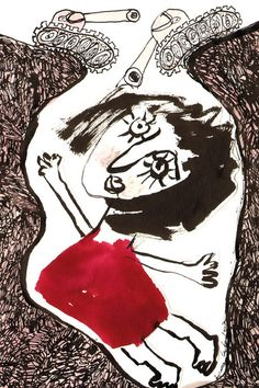 Joanna Latka, Sombras e Nevoeiro, 2015, Untitled 1, 11x9cm