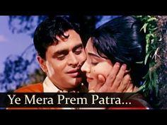 ▶ Sangam - Yeh Mera Prem Patra - Mohammed Rafi - YouTube