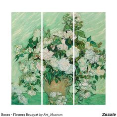 Liven up the walls of your home or office with Flowers wall art from Zazzle. Check out our great posters, wall decals, photo prints, & wood wall art. Wood Wall Art, Wall Art Decor, Van Gogh Prints, Triptych, Flower Art, Wall Decals, Bouquet, Roses, Flowers