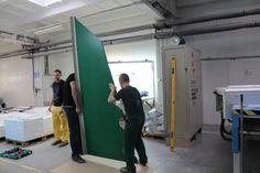 Tak zaczynaliśmy. Pierwsze elementy naszej choinki. #choinka #święta #wystawa #ecs #gdańsk