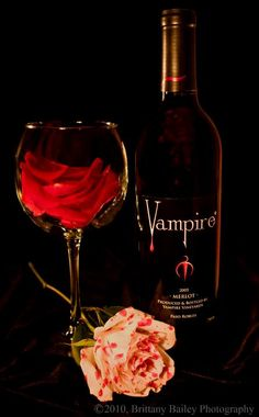 For those you who DO prefer to drink wine. A fangtastic vintage...                                                                                                                                                      More