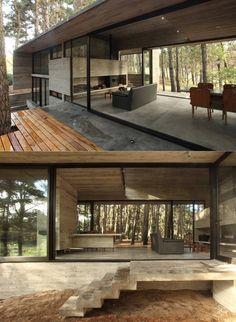 Concrete Cher House by BAK Architects