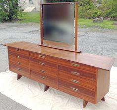 George Nakashima for Widdicomb Triple Dresser. Sold $11,210!