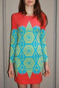 Jonathan Saunders Genevieve Jersey Dress #jonathansaunders #ss12 #summer #mini #dress #genevieve #jones #jonathan #saunders $479