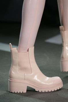 """arctictic: """" Shoes at Marc by Marc Jacobs Spring 2015 NYFW """" Pretty Shoes, Cute Shoes, Me Too Shoes, Bootie Boots, Shoe Boots, Shoes Sandals, Shoe Bag, Ugly Shoes, Sock Shoes"""