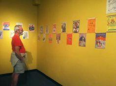 Arnie's looking at art. Logo Design, Graphic Design, Photo Wall, Logos, Animals, Art, Art Background, Photograph, Animales