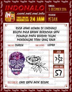 Colok Naga 4D Togel Wap Online Live Draw 4D Indonalo Medan 5 Desember 2016