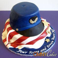 For Brian's grooms cake!!! Civil War Cake