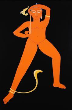 Rekha Rodwittiya, 'Rekha @ 50 (Orange),' 2008, Aicon Gallery