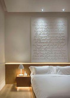 Une bande lumineuse à LED pour la tête de lit - Marie Claire Maison