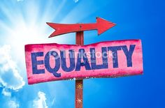 Equality Sign With Sky Background Stock Photo   Thinkstock