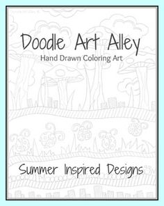 Free download (as of June 11,2012) - summer coloring book - good coloring pages.