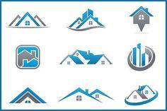 Real Estate Bundle: 9 Logos by dm243 on @creativemarket