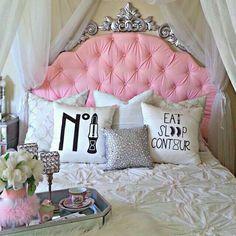 Pink Girly Glam Diva Room