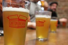 Carton Brewing is one of New Jersey's newest breweries and is turning out some very awesome and very fresh brews for the beer drinkers of the garden state. #beer