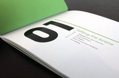 This two-color brochure is beautiful and simple - just the way we like it!