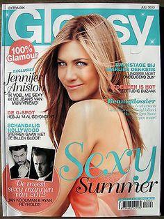 Glossy 7/2012 Jennifer Aniston, Jan Kooijman, Emma Stone, Matthew Williamson