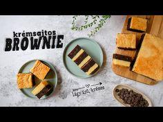 Brownie recept krémsajttal ◾ EGYSZERŰ CSOKIS SÜTI - YouTube Brownies, Keto, Youtube, Cake Brownies, Youtubers, Youtube Movies