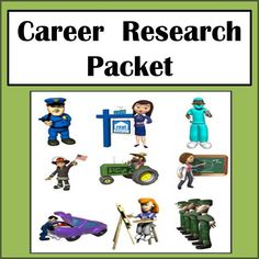 This career research packet allows students to explore different careers they may be interested in pursuing. This is a good tool to use as a follow-up lesson on personal budgeting so students can see if they can afford the things they may want based on the income from the career they choose. Students will use the Occupational Outlook web site to gather information such as job outlook, average salary, courses to prepare them, education required, etc. regarding the careers they are interested…