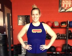 DIY Cyclops workout shirt by More Than A Geek Girl l @greenshehulk