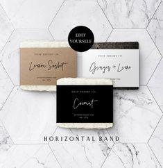 Diy Soap Labels, Soap Display, Label Templates, Box Packaging Templates, Packaging Ideas, Packaging Design, Diy Inspiration, Printable Labels, Cold Process Soap