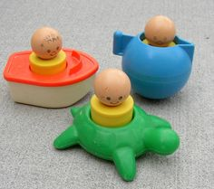 Bath toys - loved these!
