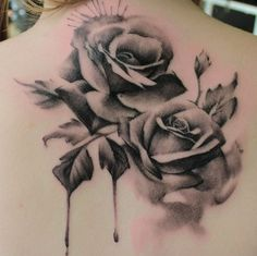 roses tattoo less the background noise