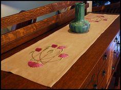 Paint By Threads, Original Arts & Crafts Textile Designs by Natalie Richards