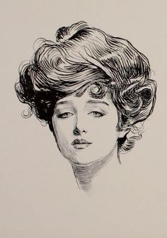 Charles Dana Gibson - The illustration is from Gibson's 1902 book The Social Ladder.
