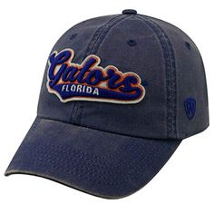 huge selection of 91228 85e3c Florida Gators Official NCAA Adjustable Park Hat Cap by Top of the World  027647