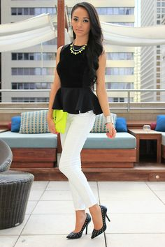 Neon+accents.+(by+Mayte+Doll)+http://lookbook.nu/look/3893936-Neon-accents