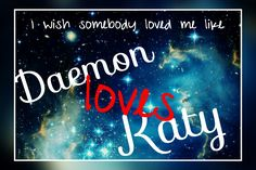 Daemon loves Katy so much it hurts  #deamonblack #katy #oblivion #obsydian #origin #onyx #opal #lux #opposition