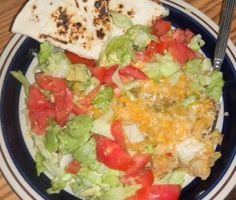 New Mexico Green Chile Chicken Enchilada Casserole from Food.com: