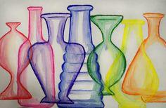 The Lost Sock : Rainbow Glass Still life.