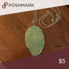 Necklace Leaf necklace Jewelry Necklaces