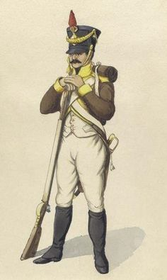 5º Regimiento de Infanteria de Línea Granada 1810 Fusilero