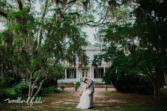 Woodland Fields Photography | Goodwood Museum & Gardens Tallahassee, FL wedding | Missy Gunnels Flowers | Papaya Planning | bride and groom together portraits