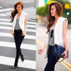 Jenny Tsang - Paige Jeans - Livin' On The Edge