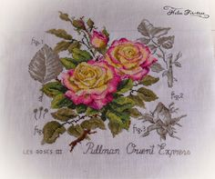 Helen Fir-tree вышивка cross-stitch Pullman Oreint Express 4