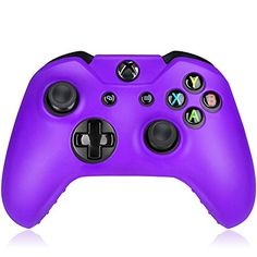 Flexible Silicone Protective Case skin For Xbox One Game Controller ConsolePurple >>> Click image for more details.Note:It is affiliate link to Amazon. #sky