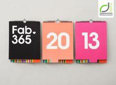 CALENDARS! Fab Perpetual Calendar by Studio Lin