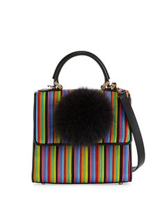 d216ff5f43ed Accessories in Spring Collections at Bergdorf Goodman. Satchel PurseSatchel  HandbagsStriped Shoulder BagsMini ...
