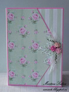 card - roses