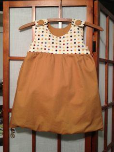 The Polka Dot Bubble Dress