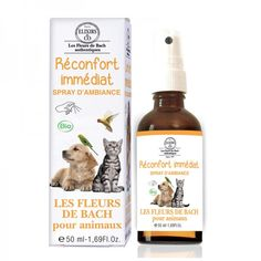 Réconfort Immédiat Spray d'Ambiance Pour Animaux Fragrance Parfum, Dog Food Recipes, Maine Coon, Products, The Nerve, Bach Flowers, Puppies, Calm, Dog Recipes