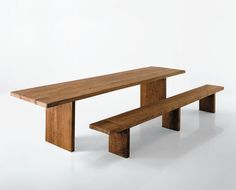 I love this table and bench